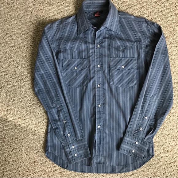Mr Boon Other - Men's Long Sleeve Stripe Shirt